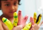poppetjes van handschoen