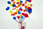 knutselen ballon verf