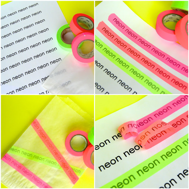 masking tape printing