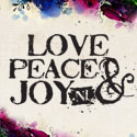 Love, peace & joy