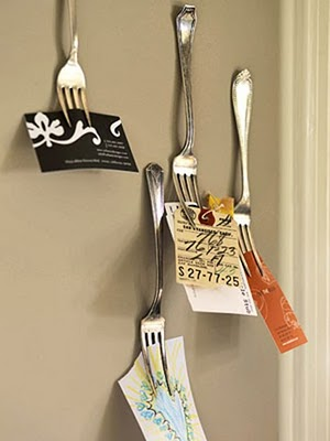 vork aan de muur