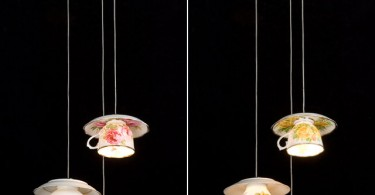lamp kop en schotel