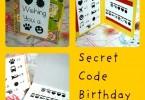 verjaardagskaart geheimtaal
