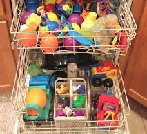 buitenspeelgoed schoonmaken