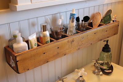 Opberger badkamer