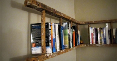 boekenkast ladder