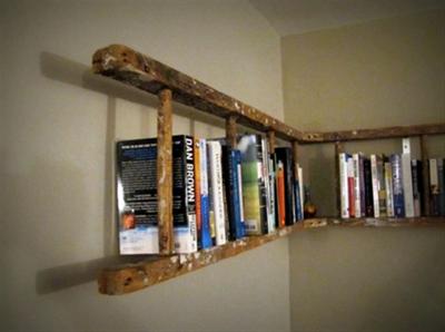 boekenkast ladder