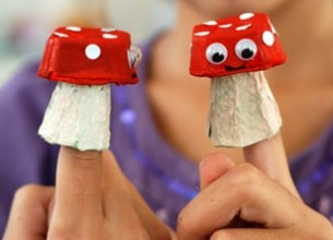 paddenstoel eierdoos