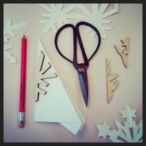 sneeuwvlok maken