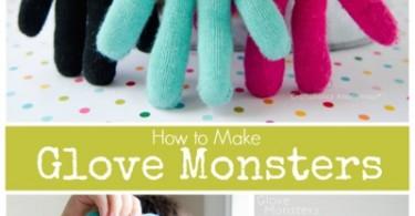 monster van handschoenen