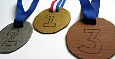 medaille knutselen