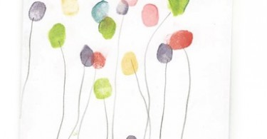 ballonnen vingerafdrukken