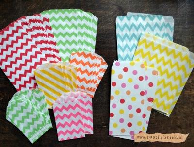 Creatief met cadeauzakjes for Cadeauzakjes papier hema