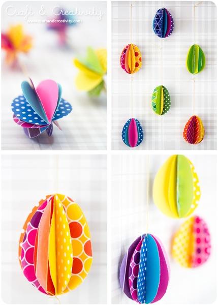eieren van papier