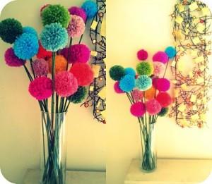 pom pom bloemen