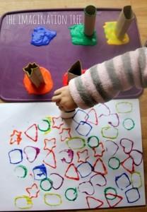vormen en kleuren leren