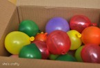 ballonnen met de post