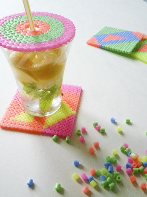 glas afdekken strijkkralen