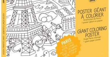 kleurplaat Parijs