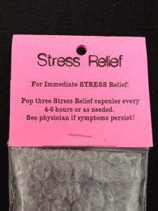 anti-stress kaartje