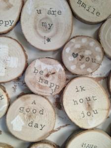 boodschap als boomstam