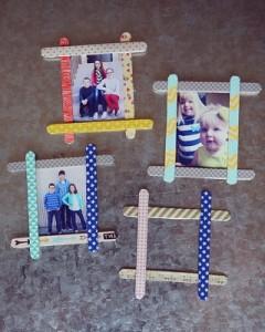 fotolijstje houten stokjes