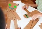 robot van karton