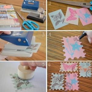 zelf postzegels maken