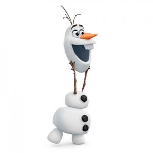 bouw een Olaf