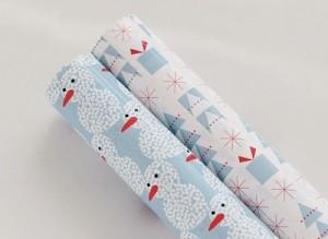 cadeaupapier kerst gratis printable