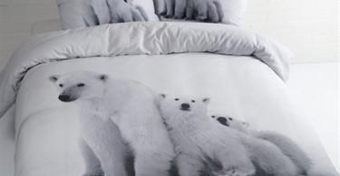 dekbedovertrek ijsbeer
