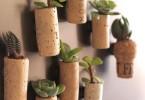 plantjes in kurk