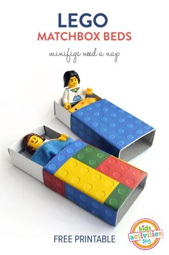 bedjes voor minifiguren Lego