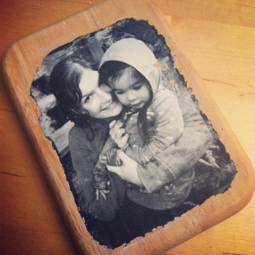 vaderdag knutsel #2: foto op hout - gespot voor jou!
