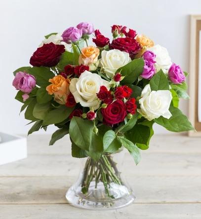 mooie bos bloemen