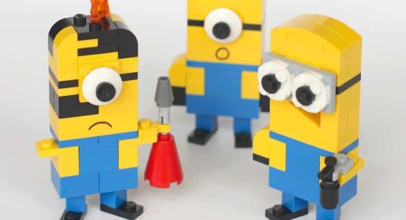 minion van lego