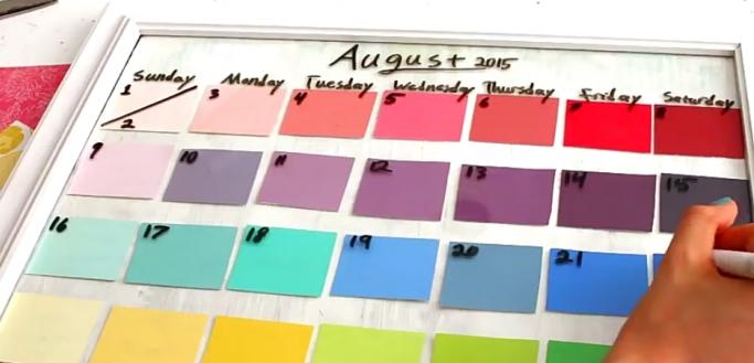 Gezinsmanagement! Maak een planbord van een fotolijst - Gespot voor ...: www.gespotvoorjou.nl/gezinsmanagement-maak-een-planbord-van-een...