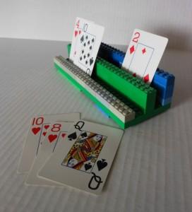 kaarthouder maken van lego