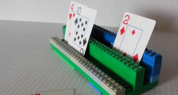 kaarthouder van lego