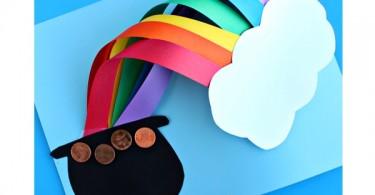 knutsel een regenboog