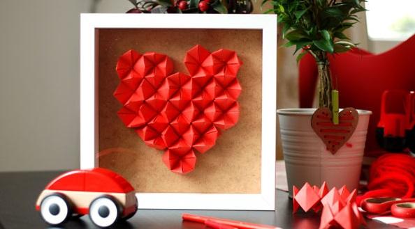 valentijn hart knutselen