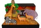 dierentuin in schoenendoos