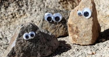 poppetjes van stenen