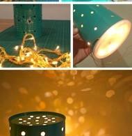 zelf een lamp maken