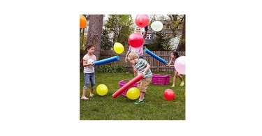 ballon hooghouden waterpistool